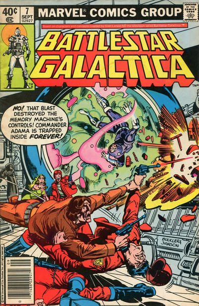 Cover for Battlestar Galactica (Marvel, 1979 series) #7 [Direct Edition]