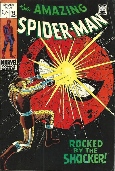 Cover for The Amazing Spider-Man (Marvel, 1963 series) #72 [Regular Edition]