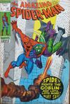 Cover for The Amazing Spider-Man (Marvel, 1963 series) #97 [British Price Variant]