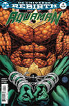 Cover for Aquaman (DC, 2016 series) #4 [Walker / Hennessy Cover]