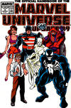 Cover for The Official Handbook of the Marvel Universe (Marvel, 1989 series) #8 [Direct Sale Edition]