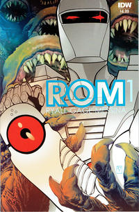Cover Thumbnail for ROM (IDW, 2016 series) #1 [Standard Cover]