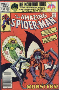 Cover Thumbnail for The Amazing Spider-Man (Marvel, 1963 series) #235 [Canadian]