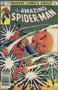 Cover Thumbnail for The Amazing Spider-Man (Marvel, 1963 series) #244 [Canadian]