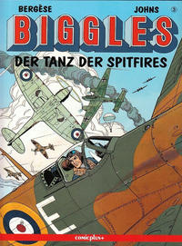 Cover Thumbnail for Biggles (comicplus+, 1992 series) #3 - Der Tanz der Spitfires