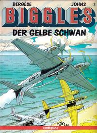 Cover Thumbnail for Biggles (comicplus+, 1992 series) #1 - Der gelbe Schwan