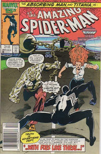 Cover Thumbnail for The Amazing Spider-Man (Marvel, 1963 series) #283 [Newsstand]