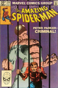 Cover Thumbnail for The Amazing Spider-Man (Marvel, 1963 series) #219 [British]