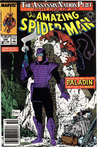 Cover Thumbnail for The Amazing Spider-Man (Marvel, 1963 series) #320 [Newsstand]
