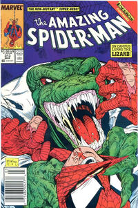 Cover Thumbnail for The Amazing Spider-Man (Marvel, 1963 series) #313 [Newsstand]