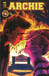 Cover Thumbnail for Archie (Archie, 2015 series) #10 [Cover A - Veronica Fish]