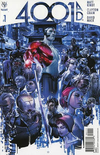 Cover Thumbnail for 4001 A.D. (Valiant Entertainment, 2016 series) #1 [Cover A - Clayton Crain]