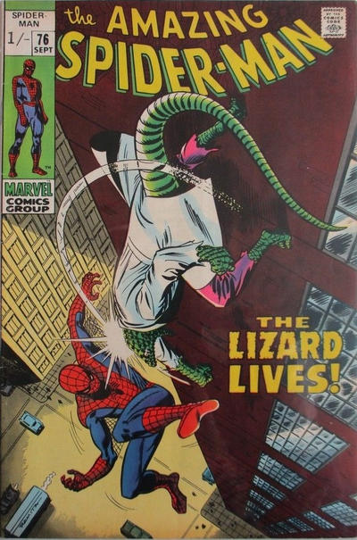 Cover for The Amazing Spider-Man (Marvel, 1963 series) #76 [Regular Edition]