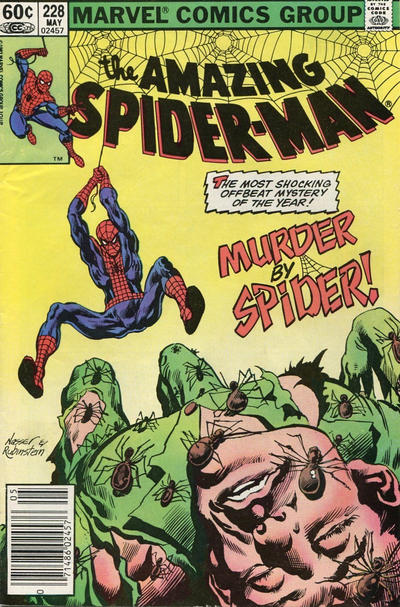 Cover for The Amazing Spider-Man (Marvel, 1963 series) #228 [Direct Edition]