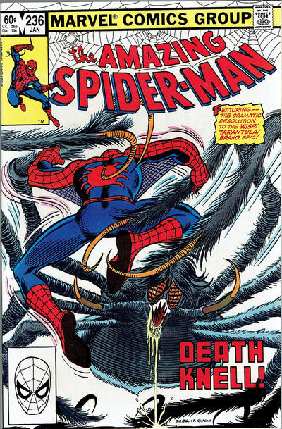 Cover for The Amazing Spider-Man (Marvel, 1963 series) #236 [Direct Edition]