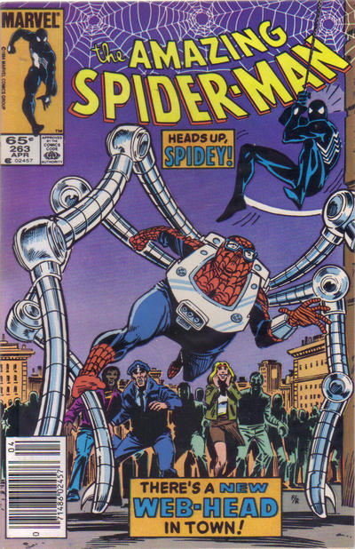 Cover for The Amazing Spider-Man (Marvel, 1963 series) #263 [Direct Edition]