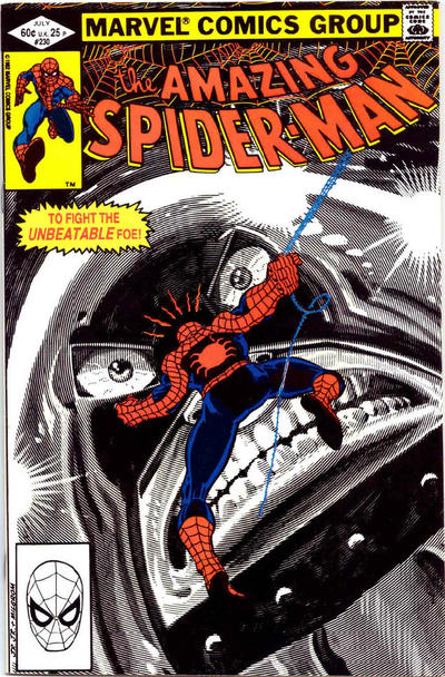 Cover for The Amazing Spider-Man (Marvel, 1963 series) #230 [Direct Edition]