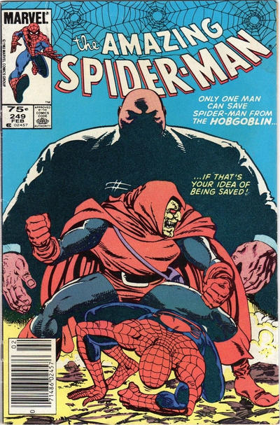Cover for The Amazing Spider-Man (Marvel, 1963 series) #249 [Newsstand]