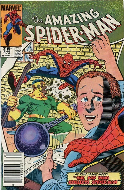 Cover for The Amazing Spider-Man (Marvel, 1963 series) #248 [Direct]