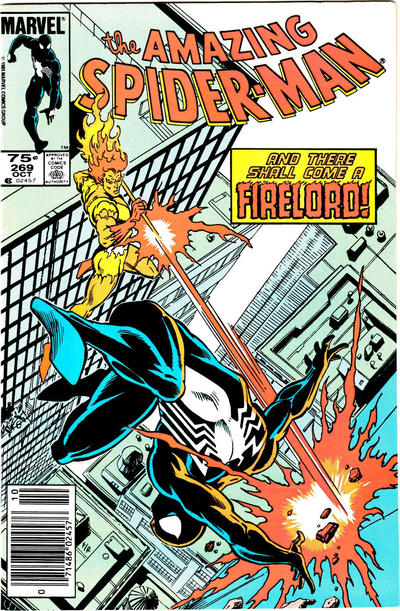 Cover for The Amazing Spider-Man (Marvel, 1963 series) #269 [Direct Edition]