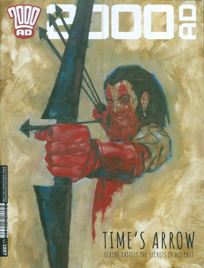 Cover for 2000 AD (Rebellion, 2001 series) #1987