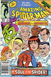 Cover for The Amazing Spider-Man (Marvel, 1963 series) #274 [Canadian Newsstand Edition]
