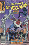 Cover Thumbnail for The Amazing Spider-Man (1963 series) #263 [Canadian Newsstand Edition]