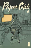 Cover for Paper Girls (Image, 2015 series) #6 [Second Printing]