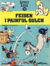 Cover for Lucky Luke (Semic, 1977 series) #20 - Feiden i Painful Gulch [3. opplag]