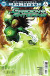 Cover for Green Lanterns (DC, 2016 series) #4 [Robson Rocha / Jay Leisten Cover]
