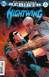 Cover for Nightwing (DC, 2016 series) #2 [Javier Fernández Cover]