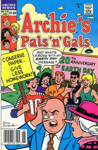 Cover for Archie's Pals 'n' Gals (Archie, 1952 series) #215 [Direct]