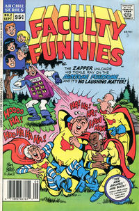 Cover Thumbnail for Faculty Funnies (Archie, 1989 series) #2 [Newsstand]