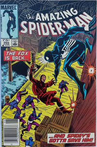 Cover for The Amazing Spider-Man (Marvel, 1963 series) #265 [Direct Edition]
