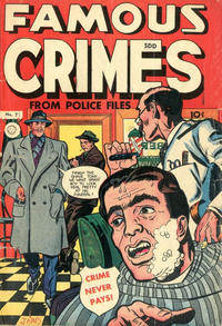 Cover Thumbnail for Famous Crimes (Superior Publishers Limited, 1949 series) #7