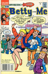 Cover Thumbnail for Betty and Me (Archie, 1965 series) #181 [Newsstand]