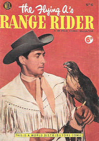 Cover Thumbnail for Flying A's Range Rider (World Distributors, 1954 series) #6