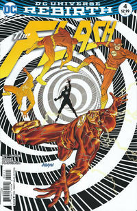 Cover Thumbnail for The Flash (DC, 2016 series) #4 [Dave Johnson Variant Cover]