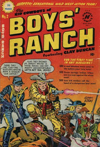 Cover Thumbnail for Boys' Ranch (Super Publishing, 1951 ? series) #2