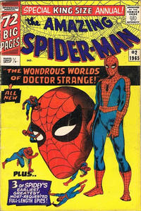 Cover Thumbnail for The Amazing Spider-Man Annual (Marvel, 1964 series) #2 [British]
