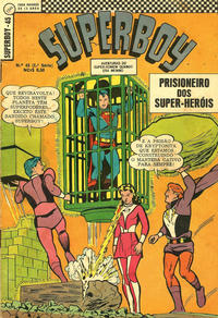 Cover Thumbnail for Superboy (Editora Brasil-América [EBAL], 1966 series) #45