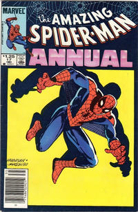 Cover Thumbnail for The Amazing Spider-Man Annual (Marvel, 1964 series) #17 [Canadian]