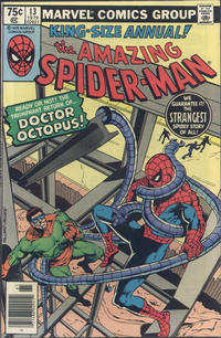 Cover Thumbnail for The Amazing Spider-Man Annual (Marvel, 1964 series) #13 [Newsstand]