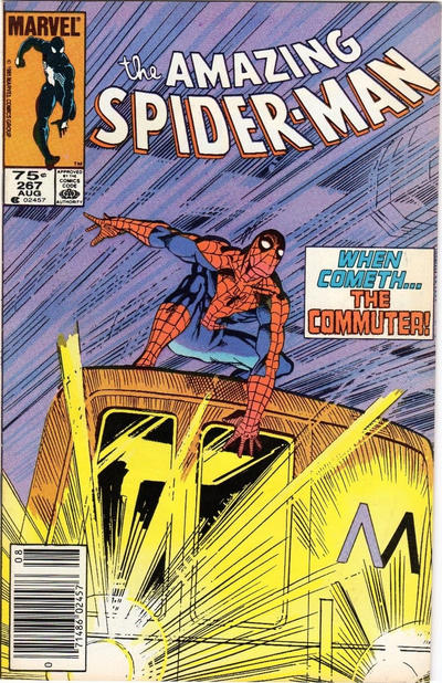 Cover for The Amazing Spider-Man (Marvel, 1963 series) #267 [Direct Edition]