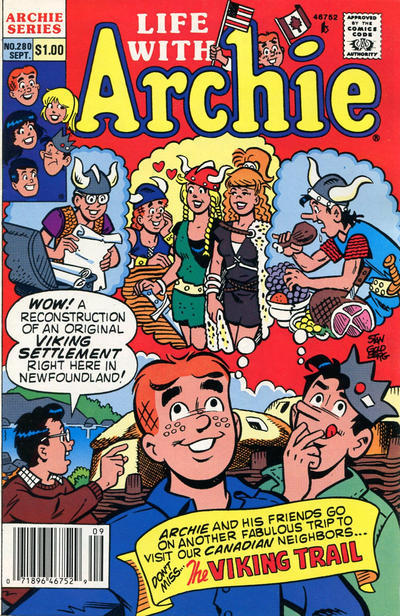 Cover for Life with Archie (Archie, 1958 series) #280 [Newsstand]