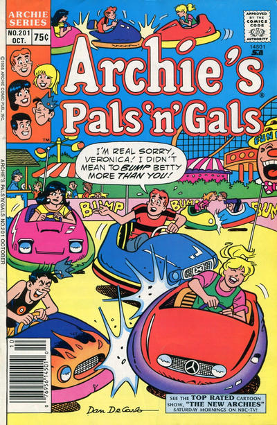 Cover for Archie's Pals 'n' Gals (Archie, 1952 series) #201 [Direct]
