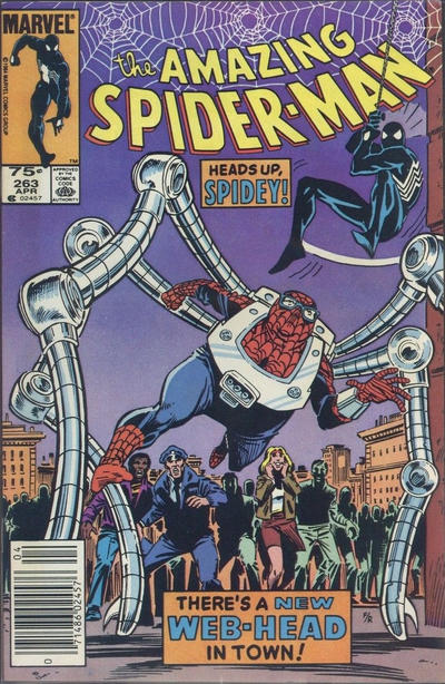 Cover for The Amazing Spider-Man (Marvel, 1963 series) #263 [Direct]