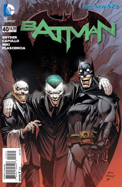 Cover for Batman (DC, 2011 series) #40 [Third Printing]