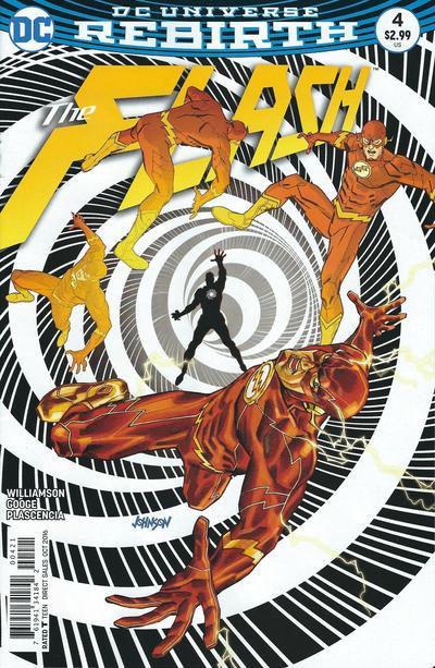 Cover for The Flash (DC, 2016 series) #4 [Carmine Di Giandomenico Cover]