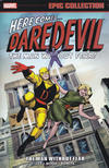Cover for Daredevil Epic Collection (Marvel, 2014 series) #1 - Man Without Fear